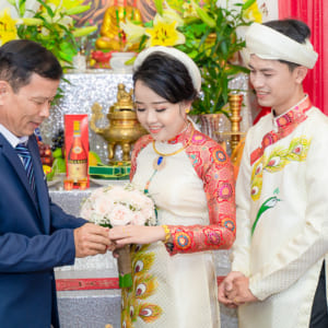 Chụp hình lễ cưới rước dâu, tiệc cưới nhà hàng TDG Center